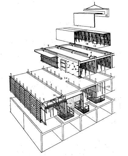 Возведение здания второго